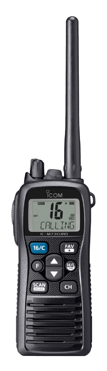 ICOM IC-M73PLUS Professional VHF Waterproof Handheld Radio